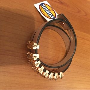 Fossil wrap bracelet new with tags